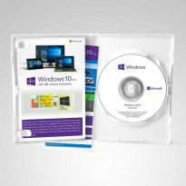 Windows 10 Pro Original (Box+COA+Sticker Logo+2 DVD)
