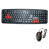 Komic Paket Keyboard Mouse USB
