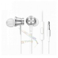 Handsfree Xiaomi Piston 3 In Ear 3rd Generation 100 Persen Original / Headset/ Earphone - Silver