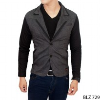 Men Blazer Stretch Grey – BLZ 729