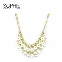 SOPHIE PARIS LISYE NECKLACE PEARL - N01015P5