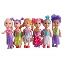 My Dream Girl Doll Set - Baby Barbie Doll 6 pcs Ages 3+