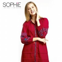 SOPHIE PARIS BETULA TUNIK RED