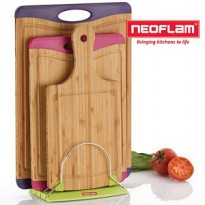 [Neoflam] Microban antimicrobial cutting board