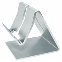 Aluminum Frame Bracket Stand for Tablet PC - Silver