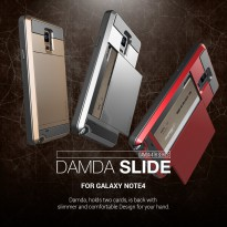 VERUS DAMDA SLOT WALLET CARD ID BACK CASE SAMSUNG NOTE 4/5/S7 FLAT/S7EDGE HARD CASE