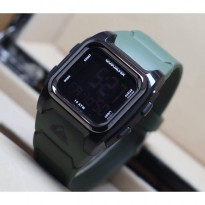 Quicksilver Men's - Jam Tangan Pria - Digital Rubber (HIJAU)