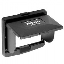 LCD Hood Screen Protector for Nikon DND 700 - Hitam