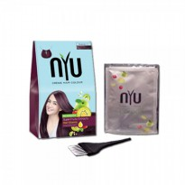 Nyu Creme Hair Colour - Burgundy 30ml