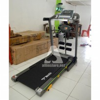 Treadmill TOTAL Fitness TL-288 Motor 2HP Multifungsi For Homeuse.