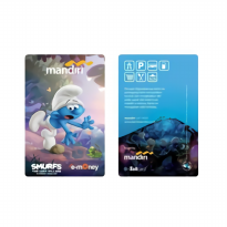 Mandiri EMoney Smurfs The Lost Village Edition – Clumsy Smurf