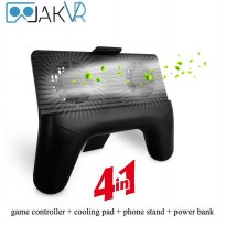 JAKVR Portable 4 In 1 Gamepad Controller Cooling Pad Stand Power Bank
