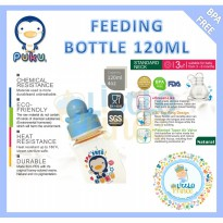 Puku Feeding Bottle 120ml blue