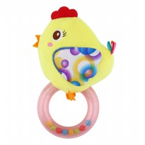 Mainan Bayi Rattle Toet Happy Monkey Yellow Chick