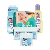 Paket Pampers Bundle New Baby 3