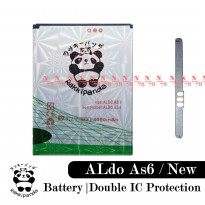 Baterai Aldo As6 As 6 New Double IC Protection