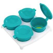 Tommee Tippee 4 Pop Up Freezer Pots & Tray - Tosca