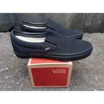 vans slip on clasic full black wafle hf
