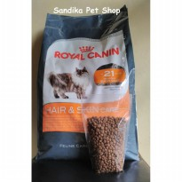 Makanan Kucing / Cat Food Royal Canin Hair & Skin Repack 500 Gram