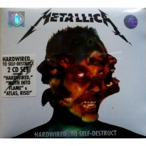 METALLICA - HARDWIRED... TO-SELF DESTRUCT BARU SEALED 2016