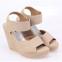 Raindoz Sepatu Wedges RKMx005 Full Cream