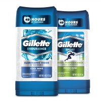 107gr GILLETTE DEODORANT CLEAR GEL