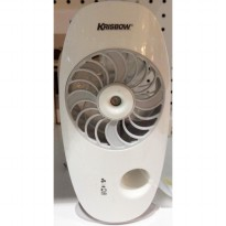 Krisbow Mini Travel Fan Kipas Angin Humidifier (Rechargeable)