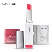 [1+1] [LANEIGE] Two Tone Lip Bar + Free Gift | Available 10 Shade