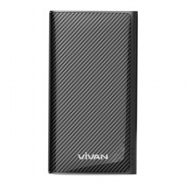 Vivan powerbank 9000 mAh W9 (2 USB PORTS) BLACK ORIGINAL