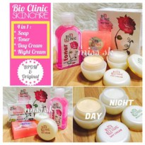 [ BPOM] Paket Cream BIOCLINIC 4in1 SKincare (whitening cream 4 in 1)