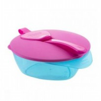 Tommee Tippee Easy Scoop Feeding Bowl Pink