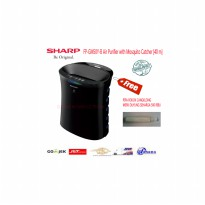 SHARP FP-GM50Y-B Air Purifier with Mosquito Catcher 40 m-Promo