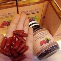 ECER BUTIR GLUTABERRY ( GLUTA ALL IN ONE WITH BERRIES ) ORIGINAL