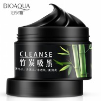BIOAQUA Bamboo Charcoal Cream Mask Acne Reduce Oil Control