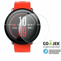 Xiaomi Huami Amazfit Premium Tempered Glass Screen Protector Anti Gores Guard Smartwatch