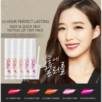 SECRET KEY Tattoo Lip Tint Pack 10g 5 Color 12 Hour perfect lasting