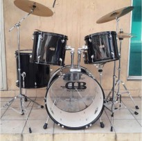 BILLY MUSIK - Drum Set DB Percussion with Cymbal Set