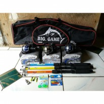 3 Set Alat Pancing Komplit JAPAN QUALITY