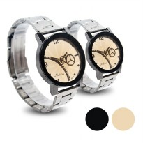 [2pcs] Couple Mechanical Watches FIN -169 CP