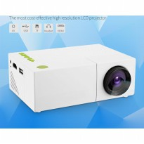 Mini Portable Projector 600 Lumens 1080P