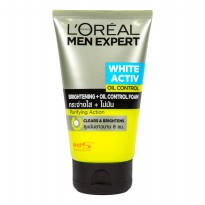 L'OREAL Men White Oil Foam 100ml
