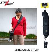 quick rapid camera sling strap universal, kamera DSLR / Digital SLR, mirrorless, Canon, Nikon, Sony