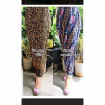 Cj collection Rok span plisket panjang batik wanita jumbo long skirt Raisya