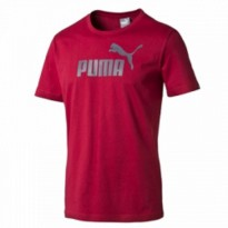 Kaos PUMA ESS NO.1 LOGO TEE - 83185418 - Red
