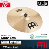 Paiste Meinl Cymbals MCS16MC 16 Inch Medium Crash Cymbal Drum