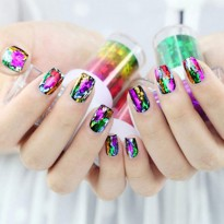 HO1567W - Nail Sticker Foil Roll #Seri 1