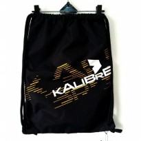 Kalibre Drawstring Bag 910702-000 Sackpack Gymsack Sack Bag Gym Bag Tas Serut Ransel Anti Air Hitam