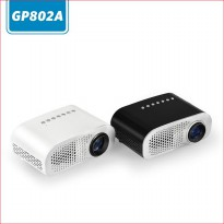 Mini Portable Projector LED 100 Lumens 480 x 320 Pixel - GP802A