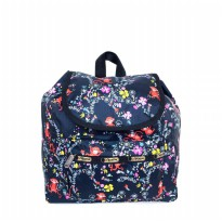 Tas Import Original Lesportsac Peanuts X small Edie Backpack - 2