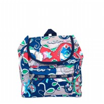 Tas Import Original Lesportsac Peanuts X small Edie Backpack - 9